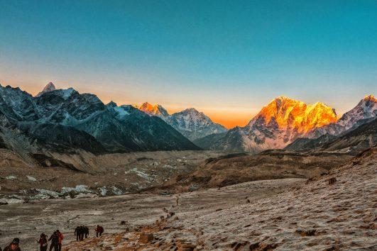 Sunset-everest-from-kalapathar