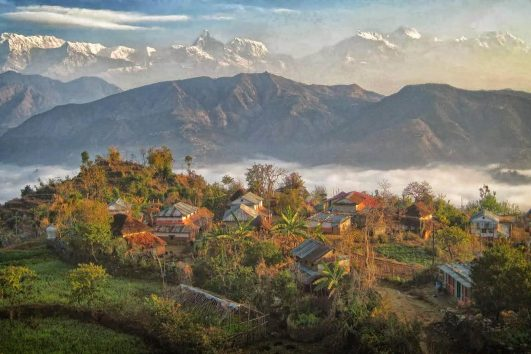 Sirubari-village